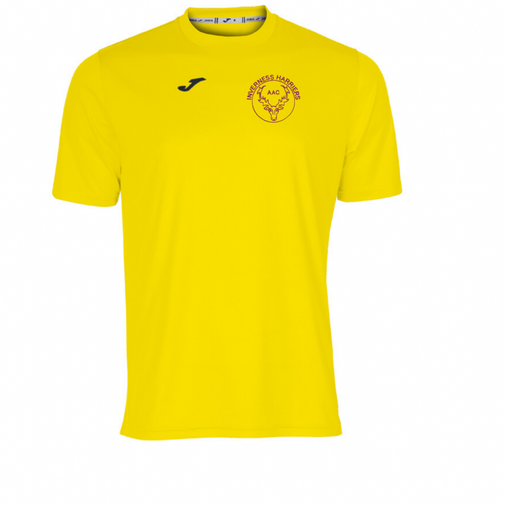 COMBI T-SHIRT MEN YELLOW